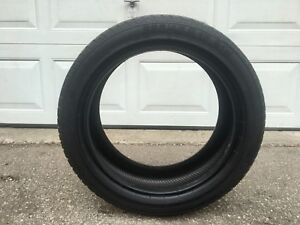 (1) 225 45 17 Continental SportContact2 SSR Performance Tire 90%