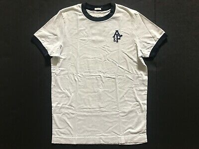 NWT Abercrombie & Fitch Men's T-Shirts Muscle Fit Vintage Beige Size L $50