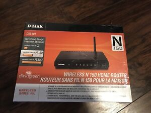 New D-Link Wireless Router $40