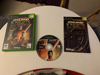 Star Wars Knights Of The Old Republic Xbox PAL Complete