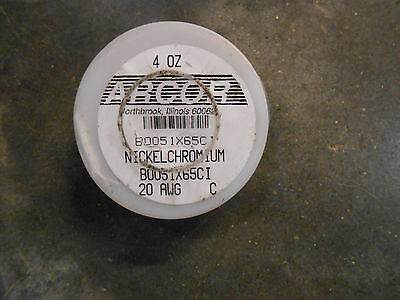 Arcor Nickel Chromium Resistant Wire 20 Awg 4oz. Gargr-2