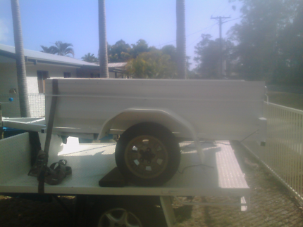 For sale just built 6x4 box trailer