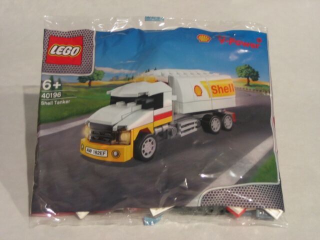 LEGO 40196 -- Shell V-Power Shell Tanker - Tankwagen OVP limitierte Edition RAR