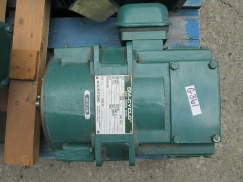 Sumitomo SM-Cyclo Direct Current Motor 2HP B18A3016APC1N1 Arm Volts: 180 (New)