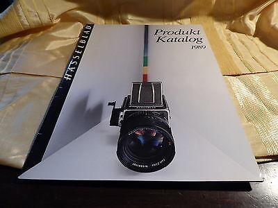 Hasselblad Produkt-Katalog 1989