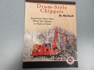 Morbark Drum-style Chippers Sales Brochure 6 Pages