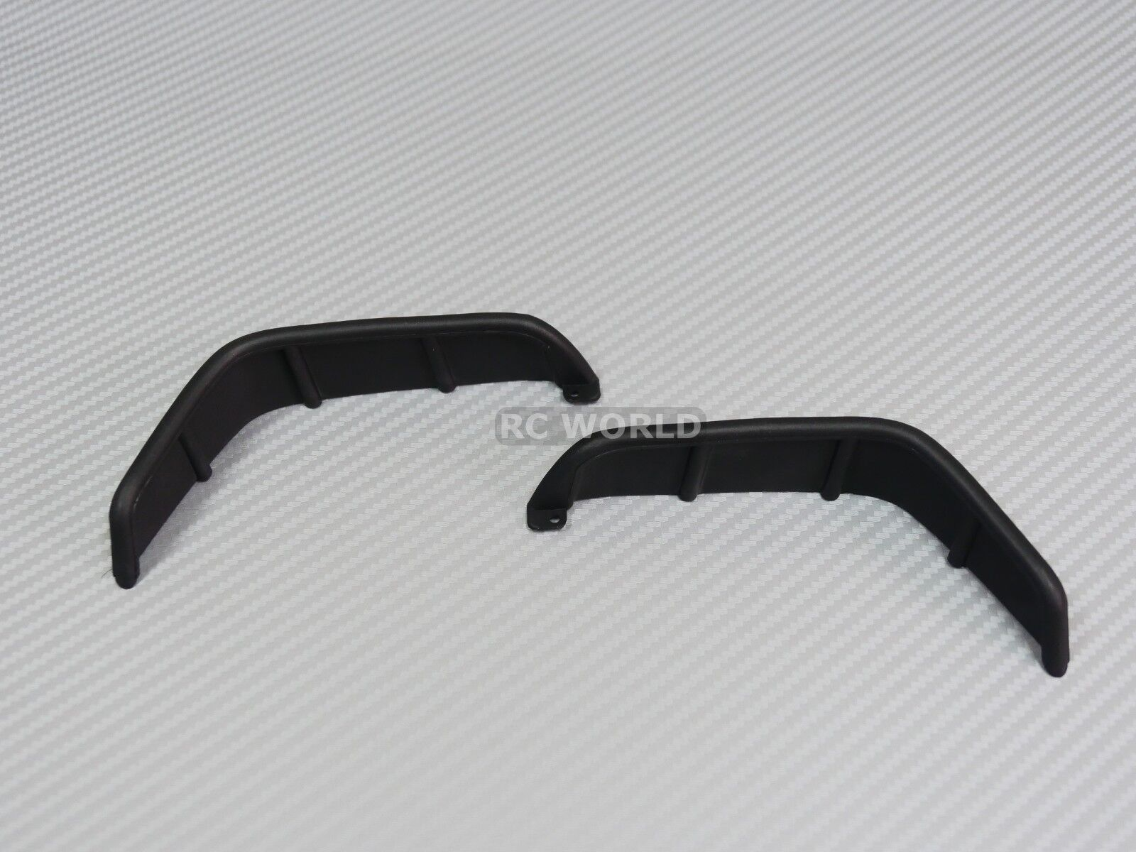 RC 1/10 Scale JEEP Body Shell BLACK FENDERS For WRANGLER