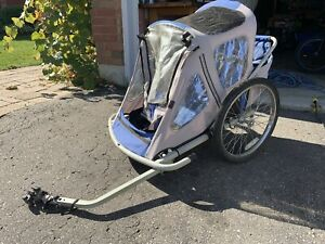 Jogging stroller/bike trailer