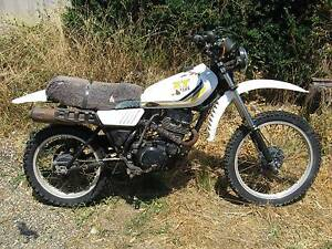 1986 YAMAHA XT250, running, road trail bike + SPARE ENGINE Seymour Mitchell Area Preview