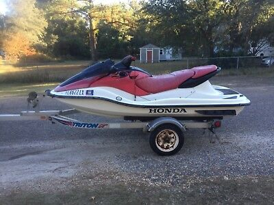 2002 Honda Aquatrax F12x Turbo Jetski With Or Without Trailer