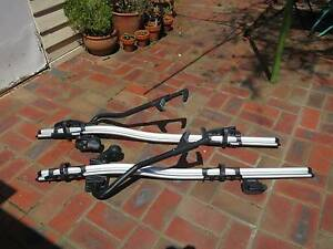 2 x Thule Pro Ride 591 Bike Carrier roof racks. bicycle proride Fitzroy North Yarra Area Preview
