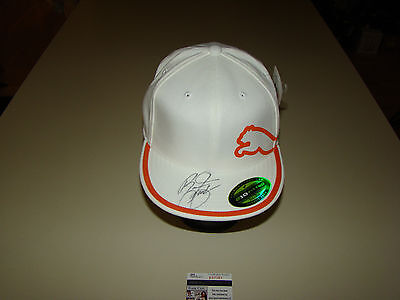 Rickie Fowler Hand Signed Puma Hat JSA #P67381 New With Tags Cap PGA Golf L/XL