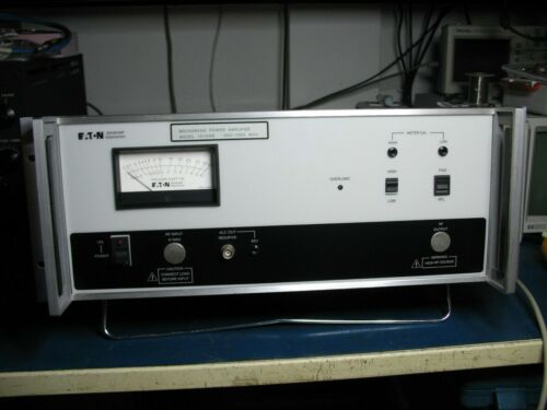 Eaton 15100B Broadband Power Amplifier 500-1000MHz