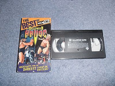 Best of WCW/NWO Halloween Havoc (1998) VHS Macho Man Hulk Hogan The Giant Sting (Halloween Havoc 98)