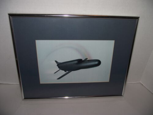 """Northrop AGM-136 """"Tacit Rainbow"""" Drone Print/Picture Nicely Framed"""