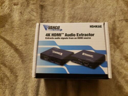 4K HDMI Audio Extractor - VANCO - $140.00