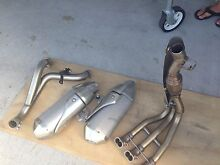 2011 Triumph Speed Triple 1050 Original exhaust system never used Stockton Newcastle Area Preview