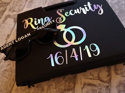 Ring security box , ring pillow alternative , wedding box - Ring Security Box