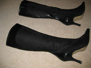 SIZE 8 DRESSY BOOTS/MINT CONDITION NEVER WORN London Ontario image 2