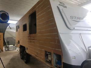 Caravan repairs and mechanical servicing