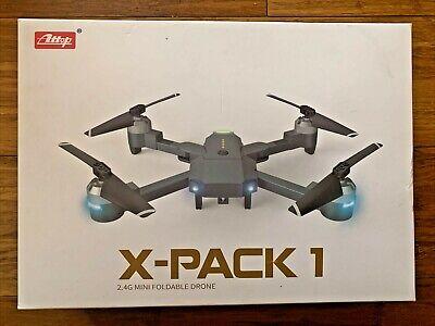 ATTOP X-Barrel1 2.4 MINI FOLDABLE DRONE CAMERA FOR BEGINNER OPEN BOX NEW CONDITION