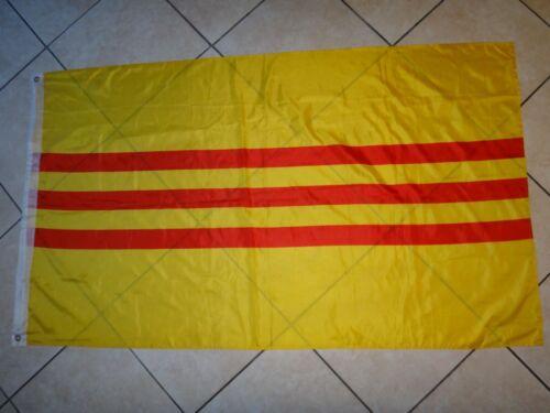 Vietnam War REPUBLIC OF VIETNAM ARVN Jumbo Size Battle Flag