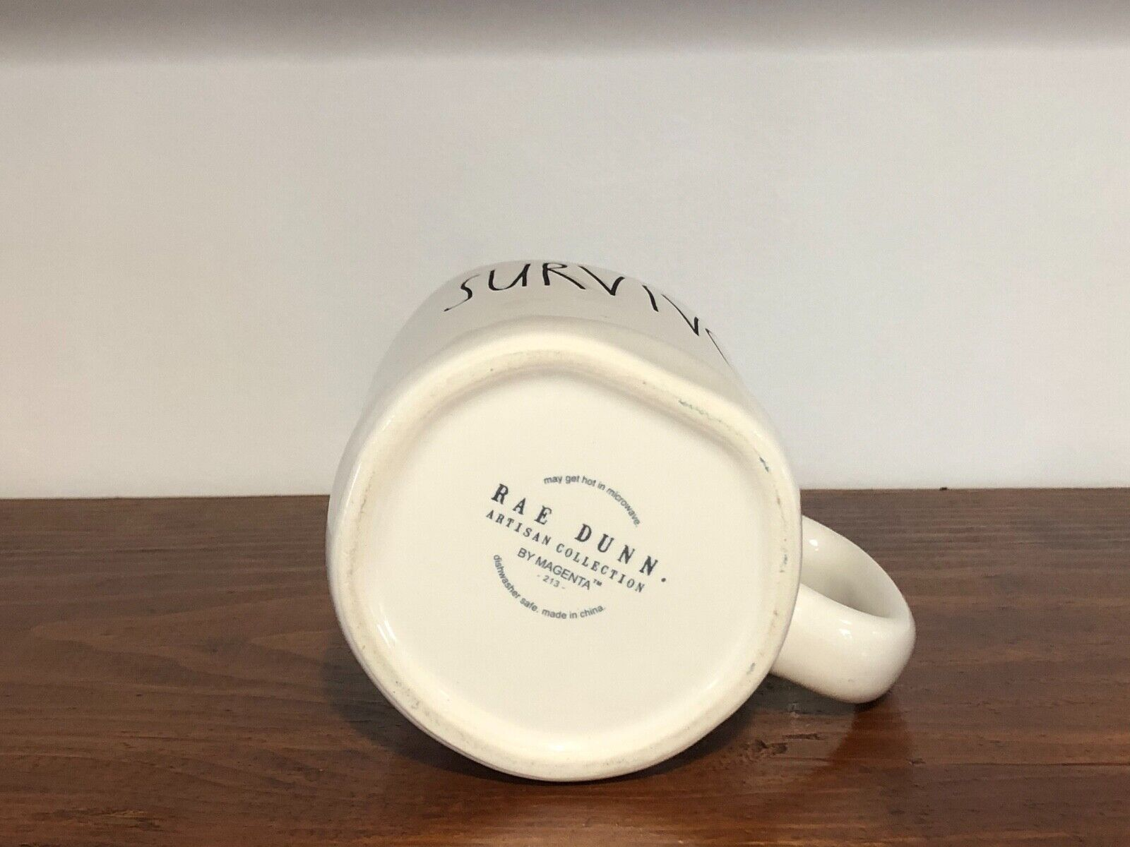 Rae Dunn Artisan Collection By Magenta Farmhouse LL Large Letter Coffee Tea Mug