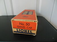 Lionel 50-36 Gang Car Hand Rail