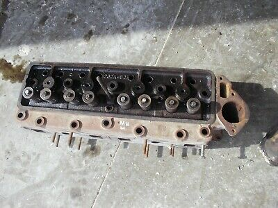 Massey Harris 44 Mh Tractor Good Gas Engine Motor Cylinder Head W Valves