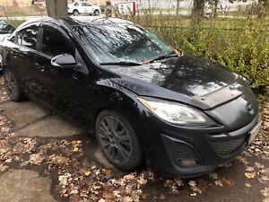 2010 Mazda 3 modified