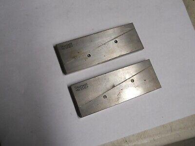 Starrett 154-e Adjustable Parallels  2 Pair  Good Used