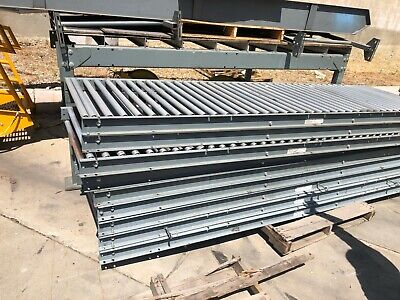 Gravity Conveyor 36 Inches Wide And 10 Foot Long