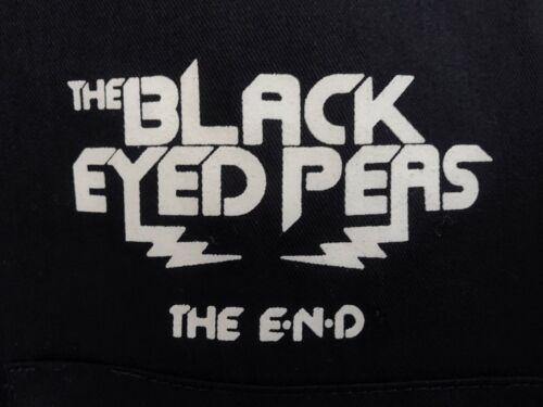 "☀️Black Eyed Peas ""The End"" Local Crew Roadie Concert Tour Button Shirt Men"