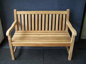 TEAK - outdoor 3 seat Marlbro bench Kent Town Norwood Area Preview
