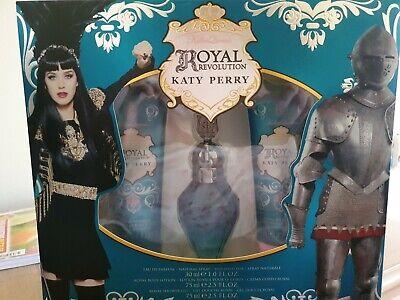 Katy Perry Royal Revolution Gift set.  Eau De Parfum Spray 30ml, Body Lotion...