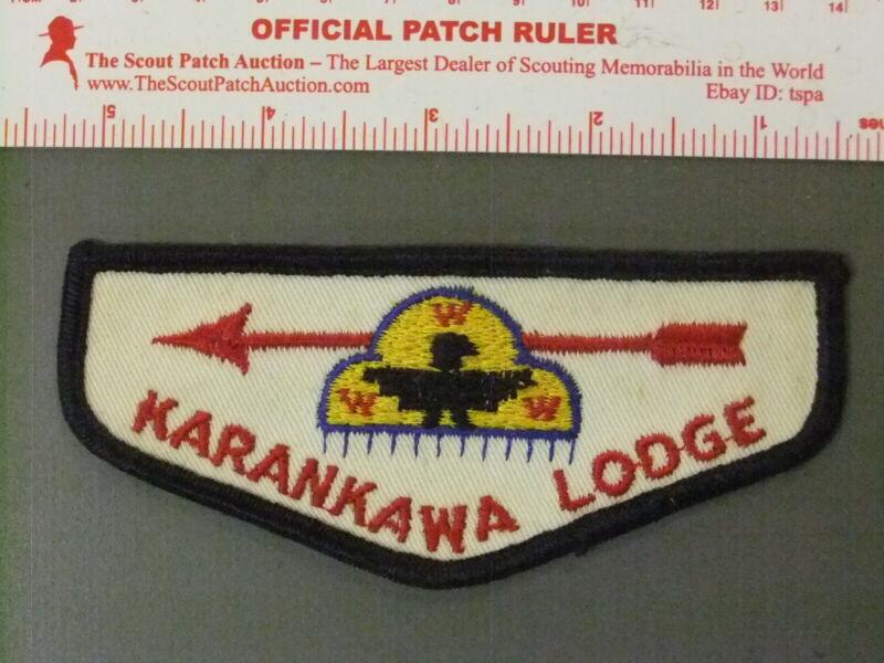 Boy Scout OA 307 Karankawa flap 4224JJ