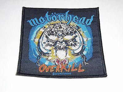 MOTORHEAD OVERKILL WOVEN PATCH