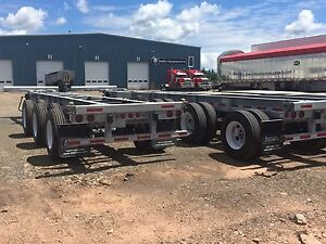 2017 ITD Extendable 40-53' Galvanized Container Chassis