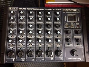 TAPCO 6100RA mixer, old school, rackmount