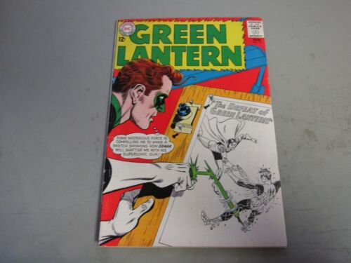 Green Lantern #19 Comic Book 1962