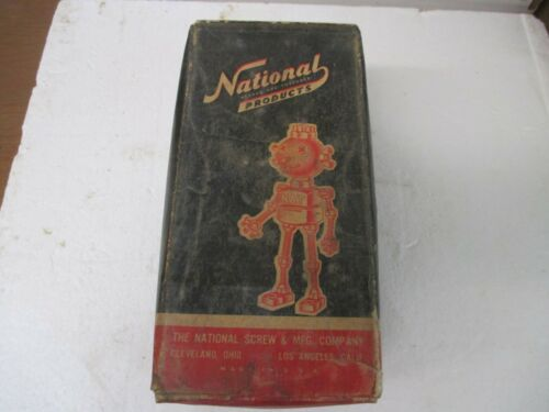 Vintage Box National Products Machine Bolts 3/8 x 3 1/2