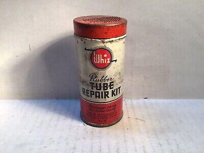 Vintage Whiz Tire Patch Repair Kit Handy gas rare tin Quart Pennzoil Goodyear GM
