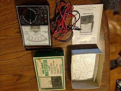 Micronta Multitester 22-204c Radio Shack Range Doubler 43 Range 50000 Ohms