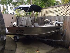 Quintrex 12ft 355 Dart Hope Island Gold Coast North Preview