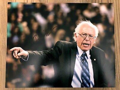 Bernie Sanders Signed Autograph 11x14 Photo PSA/DNA