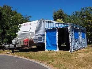 2010 Coral Bay Billabong Off Road Caravan Hawley Beach Latrobe Area Preview