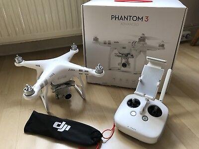 Dji Phantom 3 Advanced TOP!!! Restgarantie!!! 2,7 K Videoaufnahme