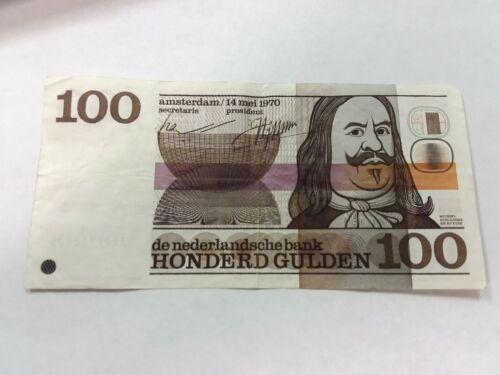 NETHERLANDS 100 Gulden 1970