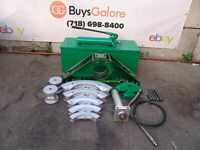 Greenlee 883 Hydraulic Bender 1 14 To 3 Comes With A Pump Nice Shape 91