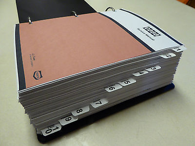 Case 12701370 Tractor Service Manual Repair Shop Book New With Binder